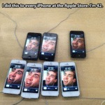 I Did This To Every Phone At The Apple Store...