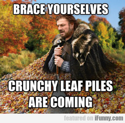 Brace Yourselves, Crunchy Leaf Piles Are Coming