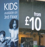 Kids Available On 3rd Floor