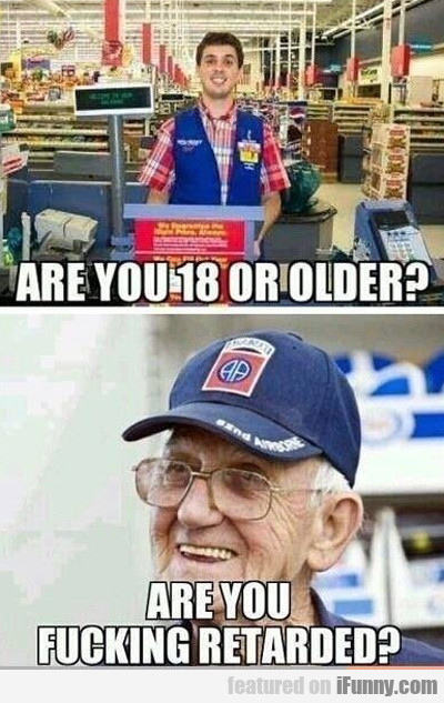 are you 18 or older?