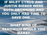 If Miley Cyrus And Justin Bieber...