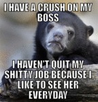 I Have A Crush On My Boss...
