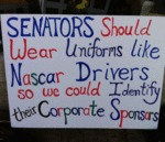 Senators Should Wear Uniforms...