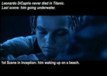 Leonardo Dicaprio Never Died In Titanic...