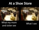 At A Shoe Store...