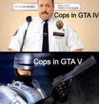 Cops In Gta Iv Vs. Cops In Gta V