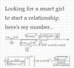Looking For A Smart Girl...