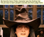 My Favourite Harry Potter Character Was The...