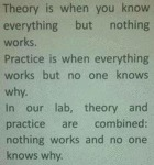 Theory Is When You Know Everything