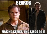 Beards, Making Series End Since 2013