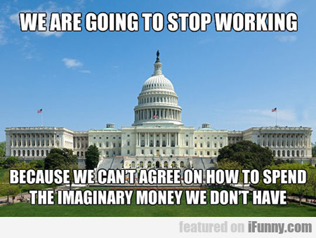we are going to stop working...