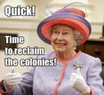 Quick! Time To Reclaim The Colonies...