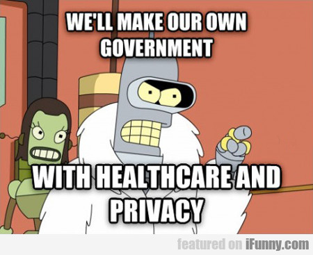 We'll Make Our Own Government...