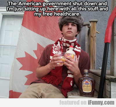 The American Government Shut Down...
