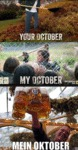 Your October, My October, Mein October