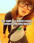 The Sight Of A Digital Camera Confuses The...