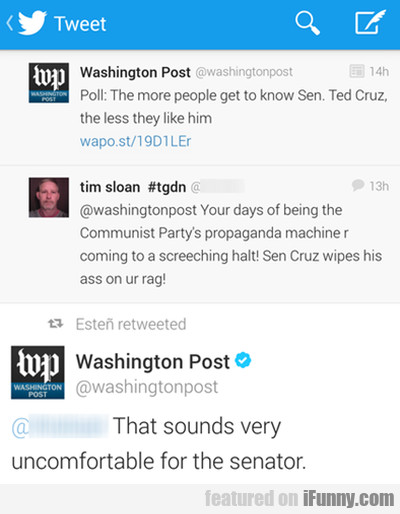 Poll: The More People Get To Know Sen. Ted Cruz...