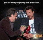 Just Two Avengers Playing With Themselves...