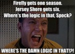 Firefly Gets One Season...