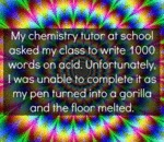 My Chemistry Teacher At School Asked My...