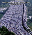 World's Longest Traffic Jam...