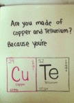 Are You Made Of Copper And Tellurium?