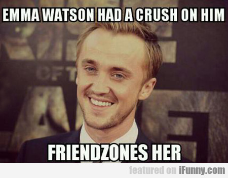 emma watson had a crush on him...