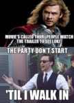 Movie's Called Thor, People Watch The Trailer