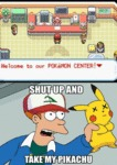 Welcome To Our Pokemon Center...