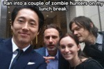 Ran Into A Couple Of Zombie Hunters On My...