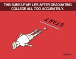 This Sums Up My Life After Graduating College...