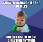 Showed My Daughter The Beatles...