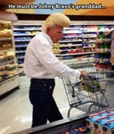 He Must Be Johnny Bravo's Granddad...