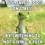 I Just Saved 100% On Stress...