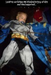 I Put My Son's Batman Blanket On Top Of Him...