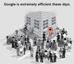 Google Is Extremely Efficient These Days...