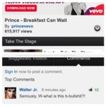 Prince - Breakfast Can Wait...