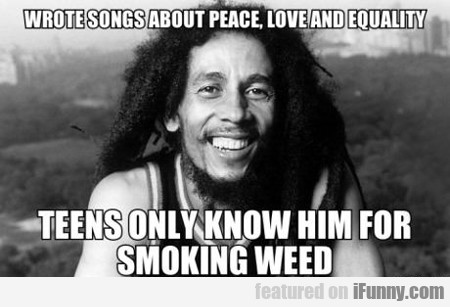 wrote songs about peace, love and equality...