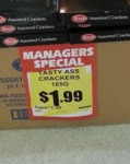 Managers Special: Tasty Ass Crackers...