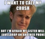 I Want To Call My Crush...
