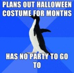 Plans Out Halloween Costume For Months...