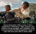 Every December 25th A Town In Peru...
