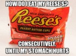 How Do I Eat My Reese's?