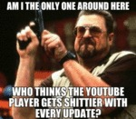 Am I The Only One Around Here Who Thinks...