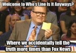 Welcome To Whose Line Is It Anyways...
