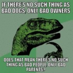 If There's No Such Thing As Bad Dogs...