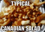 Typical Canadian Salad