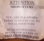 Attention Shoplifters...