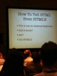 How To Tell Html From Html Five...