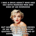 I Was A Drug Addict Who Had Sex With...
